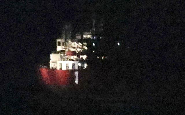 Nave Andromeda incident