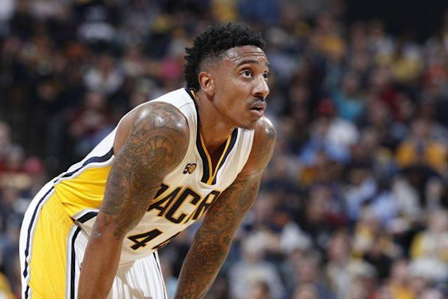 "<a class=""link rapid-noclick-resp"" href=""/nba/players/4624/"" data-ylk=""slk:Jeff Teague"">Jeff Teague</a> will team up with <a class=""link rapid-noclick-resp"" href=""/nba/players/4912/"" data-ylk=""slk:Jimmy Butler"">Jimmy Butler</a>, <a class=""link rapid-noclick-resp"" href=""/nba/players/5292/"" data-ylk=""slk:Andrew Wiggins"">Andrew Wiggins</a> and <a class=""link rapid-noclick-resp"" href=""/nba/players/5432/"" data-ylk=""slk:Karl-Anthony Towns"">Karl-Anthony Towns</a> in Minnesota. (Getty)"