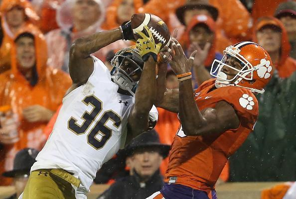 Notre Dame and Clemson will meet five more times from 2026-37. (Getty)