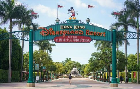 Hong Kong Disneyland has been forced to close twice due to social-distancing measures connected to the Covid-19 pandemic. Photo: Winson Wong