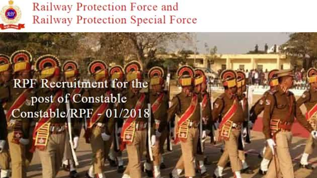 RPFConstable Admit Card released for Group A, B, F posts