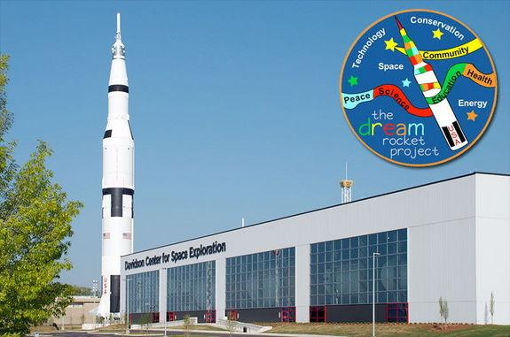 The Dream Rocket, an art project, has proposed wrapping in a student-created quilt the real Saturn V rocket inside the Davidson Center for Space Exploration at the U.S. Space & Rocket Center in Huntsville, Alabama, rather than the replica stand