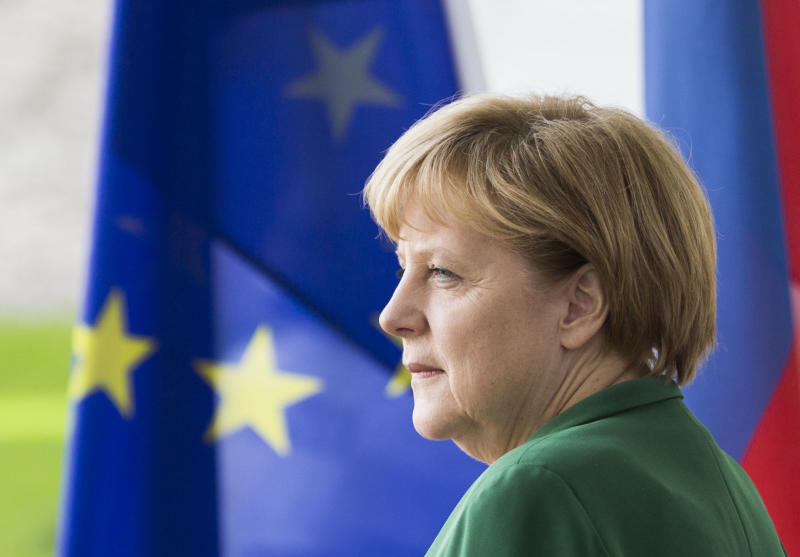 Merkel insists austerity part of Europe's cure