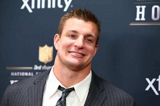 Rob Gronkowski planning on a slow, methodical return from knee surgery