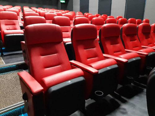 Take a peek at the seats inside the cinema hall!