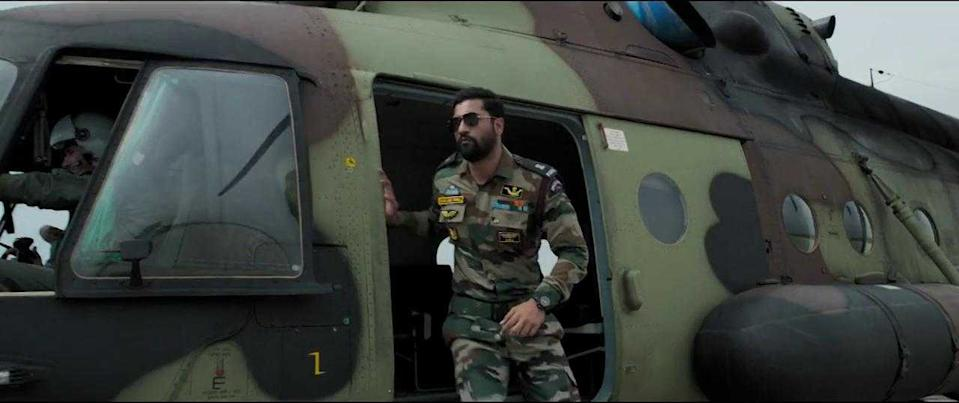 """Acting comes easy to the versatile Kaushal. But to look the part for Uri, he bulked up and underwent commando training. Out went the boy next door image and arrived the imposing and retribution-seeking Major Vihaan Singh Shergill bellowing the very iconic line: """"How's the josh?"""""""