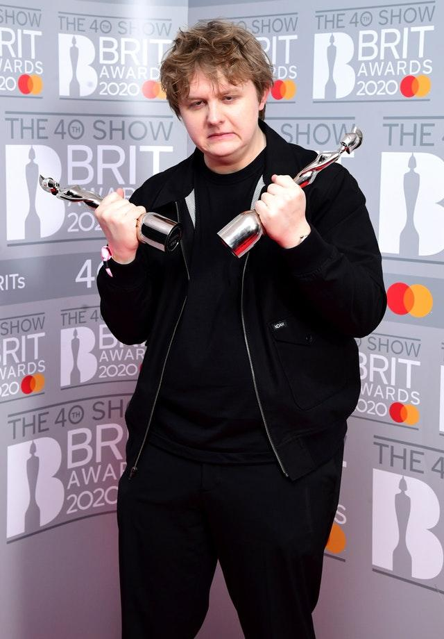 Lewis Capaldi is the UK's most-streamed artist