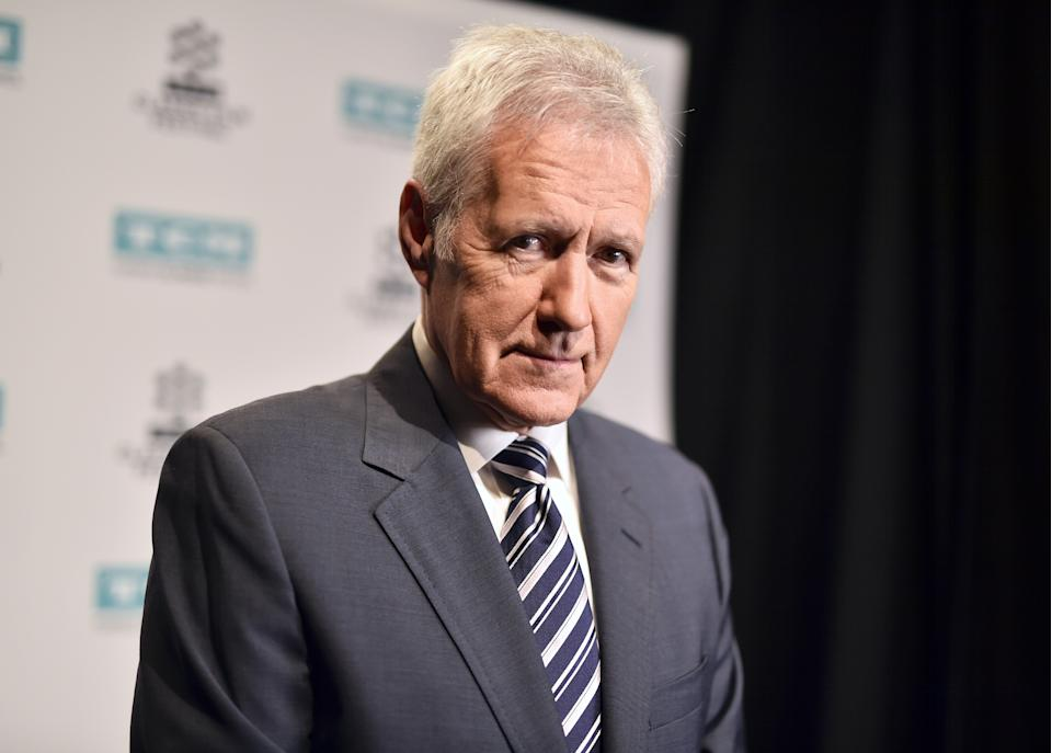 "Alex Trebek's daughter Nicky celebrated her late father after his final ""Jeopardy"" episode aired on Jan. 8 2020. (Photo: Emma McIntyre/Getty Images for TCM)"