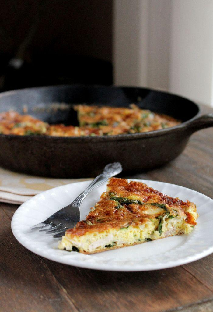 """<p>Post-Thanksgiving breakfast solved.</p><p>Get the recipe from <a href=""""http://diethood.com/leftover-turkey-frittata/"""" rel=""""nofollow noopener"""" target=""""_blank"""" data-ylk=""""slk:Diethood"""" class=""""link rapid-noclick-resp"""">Diethood</a>.</p>"""