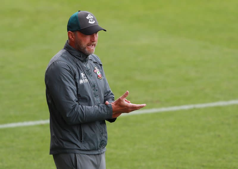 Hasenhuettl hopes Southampton can hit the ground running