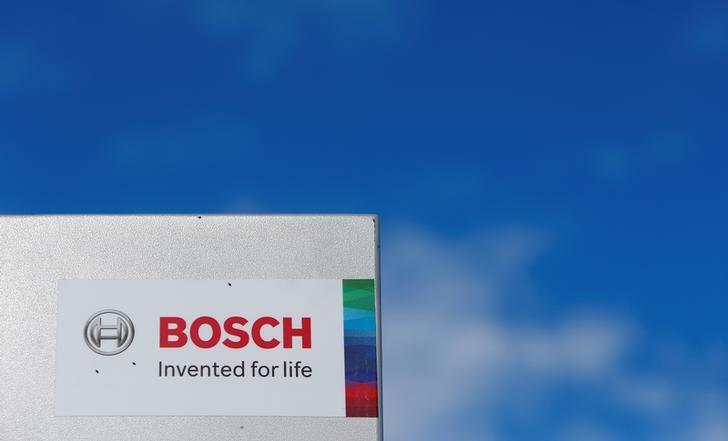 Bosch logo is pictured in Renningen