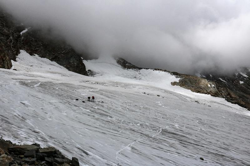 At another glacier in the Valais region in July mountaineers discovered the remains of a German backpacker, who died 30 years ago while climbing the Swiss Alps