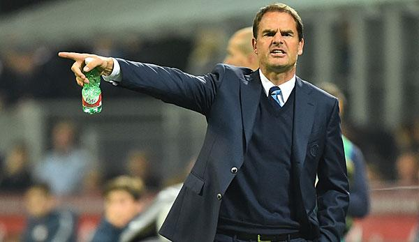 Premier League: De Boer vor Engagement bei Crystal Palace