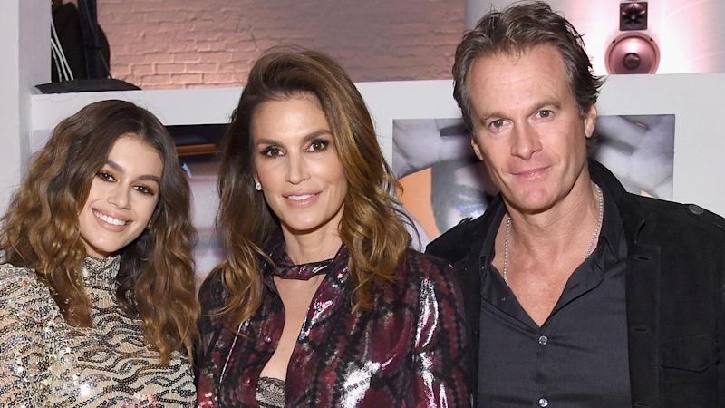Cindy Crawford Celebrates Daughter Kaia Gerber's Sweet 16 With Adorable Flashback Photo