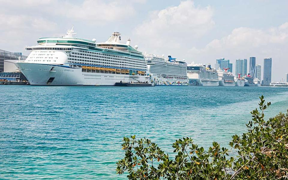 It's been over seven months since passengers were allowed to board cruise ships in the US - JEFF GREENBERG