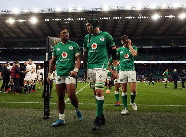 Ireland were well-beaten in their past three meetings with England, including a 24-12 Six Nations loss in February