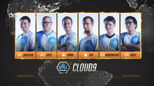 Cloud9's Overwatch team has picked up a new coach. (OGN)