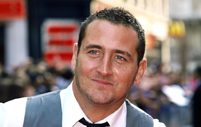 British musician and actor Will Mellor arrives at the World Premiere of the film, '4.3.2.1' in London's Leicester Square on May 25, 2010. AFP Photo/MAX NASH (Photo credit should read MAX NASH/AFP via Getty Images)