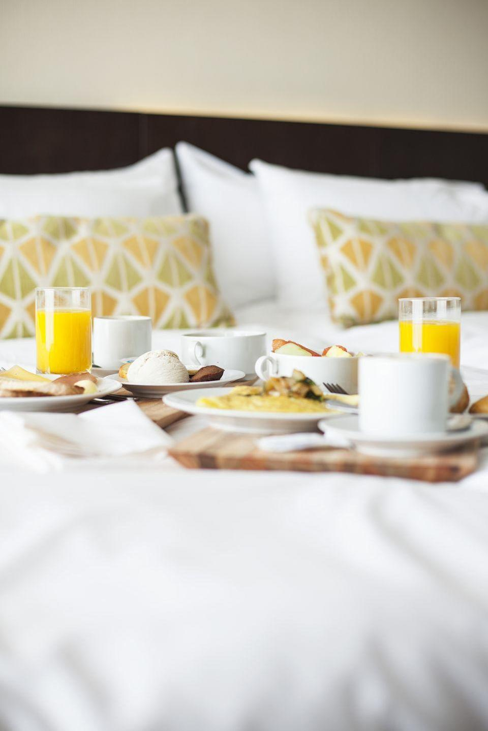 "<p>To feel like you're on vacation without going very far, book a one-night stay at a hotel or bed and breakfast nearby. Treat yourselves to room service and a dip in the hot tub if there's one available!</p><p><a class=""link rapid-noclick-resp"" href=""https://go.redirectingat.com?id=74968X1596630&url=https%3A%2F%2Fwww.tripadvisor.com%2F&sref=https%3A%2F%2Fwww.thepioneerwoman.com%2Fholidays-celebrations%2Fg35118424%2Fthings-to-do-on-valentines-day%2F"" rel=""nofollow noopener"" target=""_blank"" data-ylk=""slk:BOOK YOUR VISIT"">BOOK YOUR VISIT</a></p>"