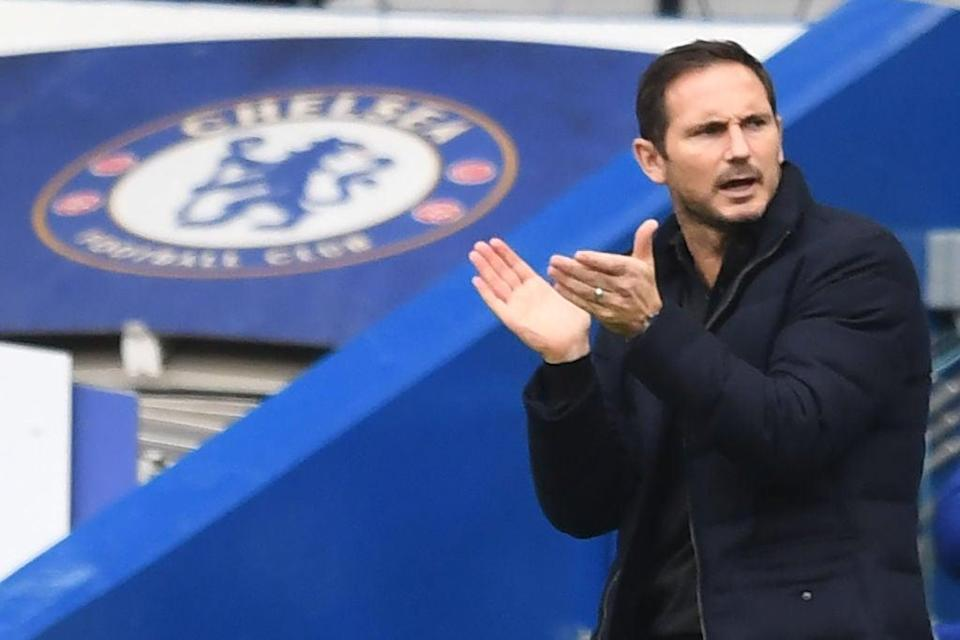 Chelsea manager Frank Lampard (POOL/AFP via Getty Images)