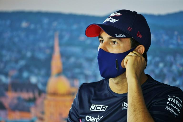 Racing Point's Sergio Perez pictured at the Hungarian Grand Prix earlier this month
