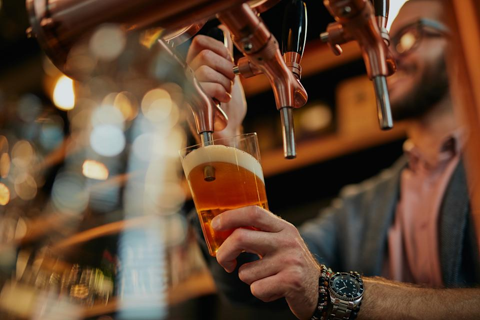 "Under the ""very high"" alert level, pubs and bars will be ordered shut. Local leaders will also have discretionary powers to order other non-essential businesses to close. Photo: Getty"