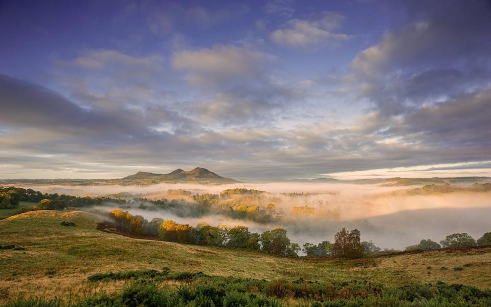 The once tumultuous Scottish Borders are now a place of peace and tranquility - Getty