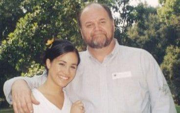 Thomas Markle pictured with his daughter, Meghan Markle - Credit: Tim Stewart News Ltd