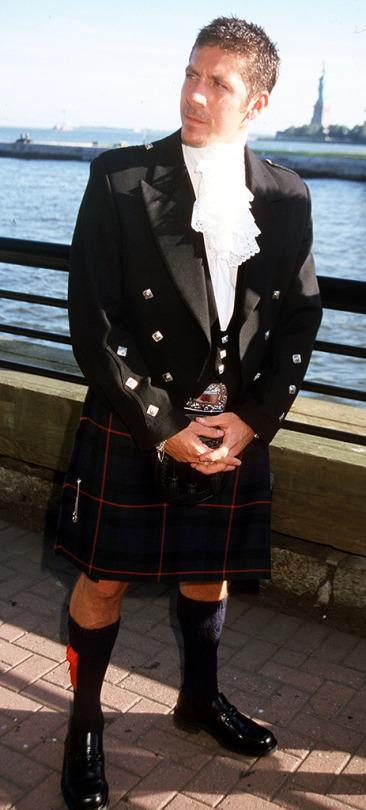 <p>The Scottish-born actor donned a kilt for the premiere; although he appeared as Darth Maul in <i>Star Wars: The Phantom Menace</i>, <i>X-Men</i> marked his first speaking part. He played the evil mutant Toad.<i> (Photo: Albert L. Ortega/WireImage)</i><br></p>