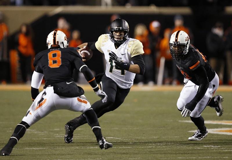 Oklahoma State leads Big 12 race after Baylor win