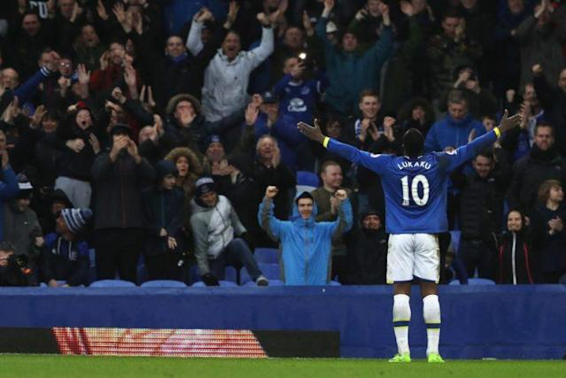 during the Premier League match between Everton and Hull City at Goodison Park on March 18, 2017 in Liverpool, England.