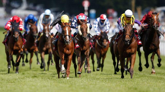 One of the races at Goodwood. Image: Getty