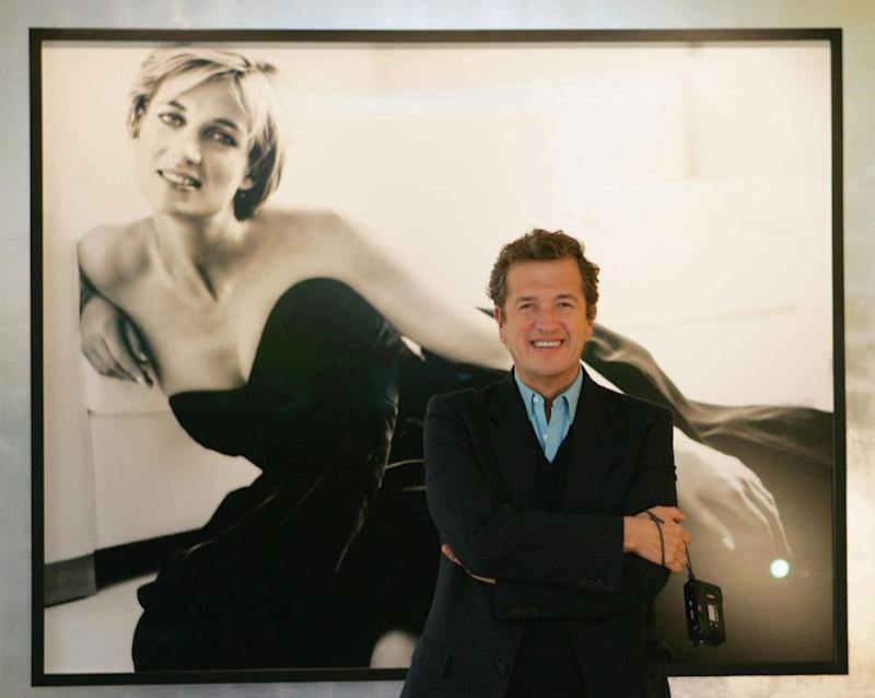 Mario Testino was Diana's favourite photographer and even took the last official portrait of her before she died. Photo: Getty Images