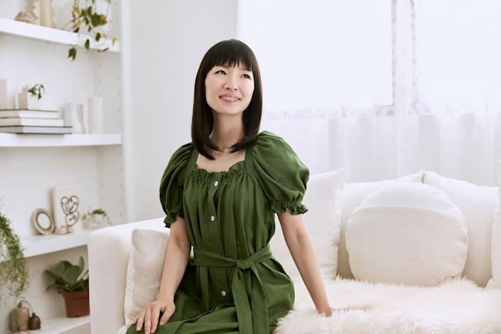 Organizing expert Marie Kondo is expanding her decluttering empire with a new online tidying course. (Photo: KonMari Media, Inc.)