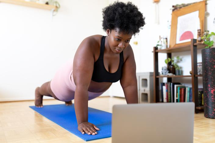 Exercise is not only good for your heart, but it also gives you more energy and helps you sleep better. (Photo: Getty)
