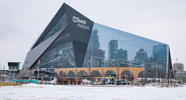 Minneapolis will host its second Super Bowl on Feb. 4, when the New England Patriots face the Philadelphia Eagles. You may want to bring your jacket if you're going. (Getty)