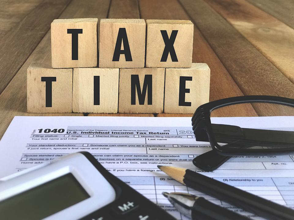 It's tax season - is your information secure? (Photo: Getty)