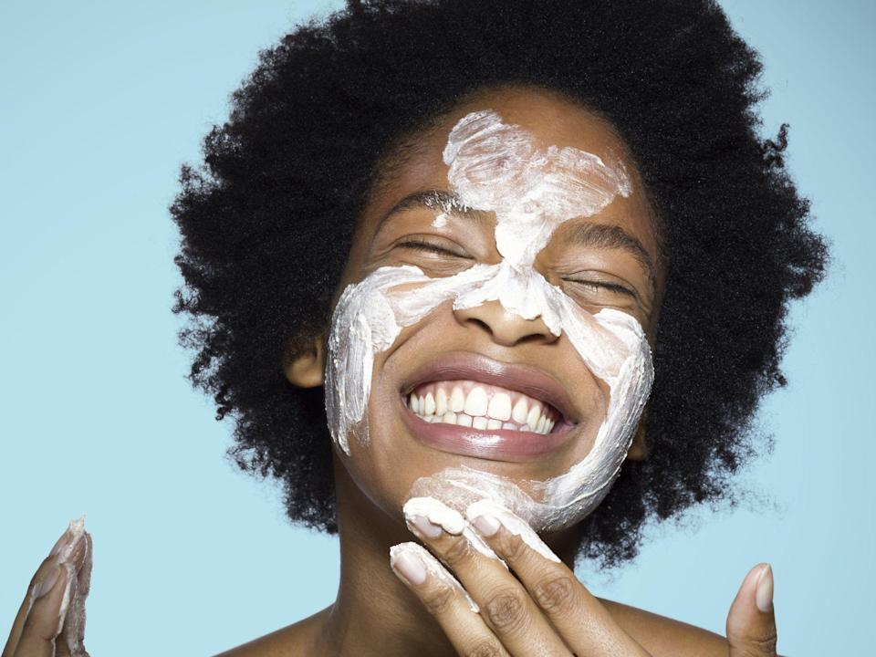 "<p>Raise your hand if your skin has been <a href=""https://www.marieclaire.com/beauty/how-to/a2830/best-homemade-face-masks/"" rel=""nofollow noopener"" target=""_blank"" data-ylk=""slk:acting up recently."" class=""link rapid-noclick-resp"">acting up recently.</a> (Reader, my two hands are reaching for the sky right now.) Maybe it's the weather changing, maybe it's double cloth masking, maybe it's both. Or maybe it's just stress! Who knows. But for whatever reason, myself and everyone around me has <a href=""https://www.marieclaire.com/beauty/a29716837/acne-face-mapping/"" rel=""nofollow noopener"" target=""_blank"" data-ylk=""slk:blemishes and breakouts"" class=""link rapid-noclick-resp"">blemishes and breakouts</a> to spare. 'Tis the season for our complexions going off the rails, apparently. Even if you've invested in an everyday acne-fighting skincare routine, sometimes you need something extra to kick cystic flare-ups and random pimples to the curb. Acne masks, assemble. </p><h4 class=""body-h4"">Can face masks actually help acne?</h4><p>Yes. Of all the face masks in existence—and there are limitless options these days—the ones that fight acne can show results the fastest. If your T-zone is constantly slick and messing with your foundation game, a few dabs of a clay formula can nix extra oil instantly. And of you wake up with some random red bumps on your cheeks, a calming formula can quell inflammation and take down that rosiness fast. Even better, new ingredients are being discovered and tested every day to defeat the blemishes that threaten to appear at any moment. </p><p>So, to streamline your shopping, we've rounded up the absolute best masks for every skin type and kind of acne. (Hot tip: grab a few different options if you can and multi-mask for a more bespoke treatment.) From soothing gel formulas for reactive, sensitive skin to muddy clay that's served best slathered on oily complexions, there's something for everyone. </p>"