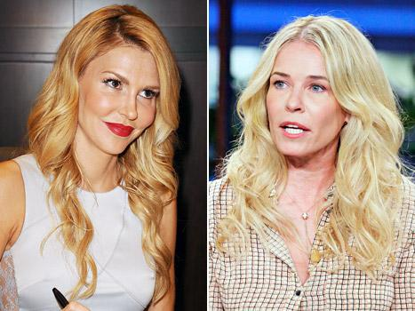 """Brandi Glanville Tells Chelsea Handler to """"Suck It"""" After Comedienne's Real Housewives Diss"""