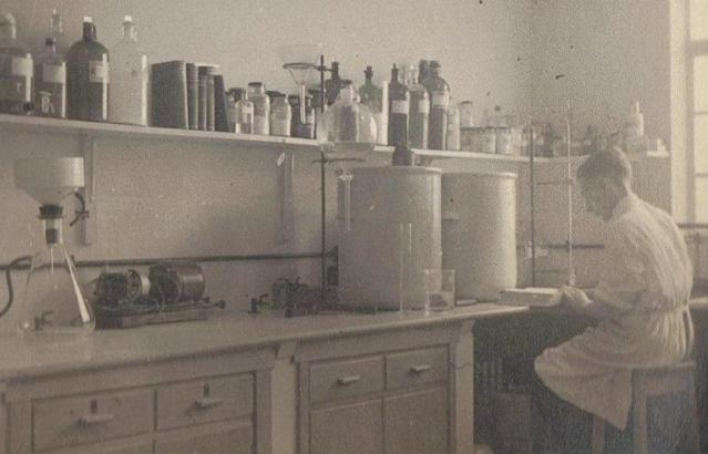 Jack Bowden was based in Clevedon, Somerset, during WWII, where he worked on production of penicillin. (SWNS)