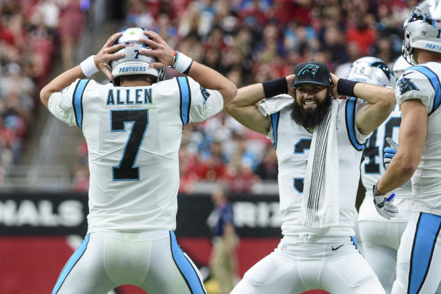 Kyle Allen and fellow backup Will Grier are enjoying life. (Getty)