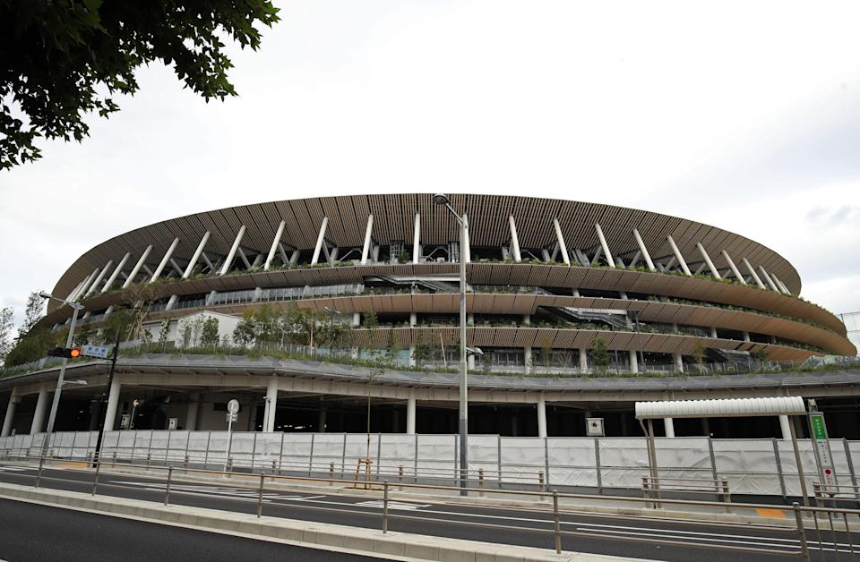 Tokyo's Olympic Stadium will empty for the 2024 Games (PA Wire)