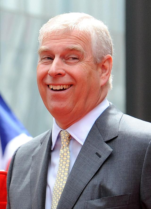 The government has also told councils they are no longer required to fly flags to mark the Duke of York's 60th birthday (Picture: PA)