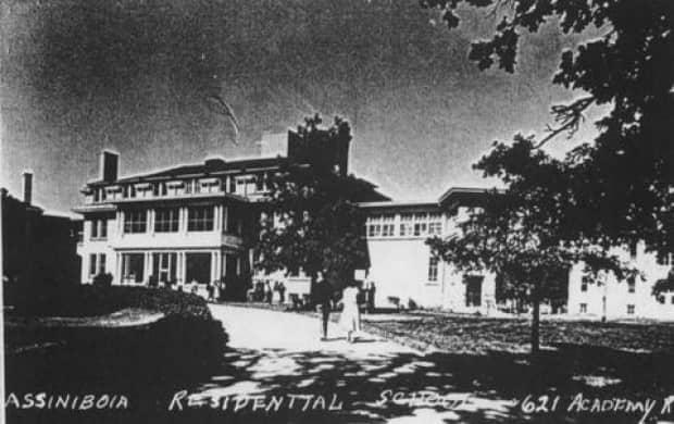The Assiniboia Residential School in Winnipeg was open from 1958 to 1973, according to the National Centre for Truth and Reconciliation. Today, the site is an office for the Canadian Cente for Child Protection. (National Centre for Truth and Reconciliation Archives - image credit)