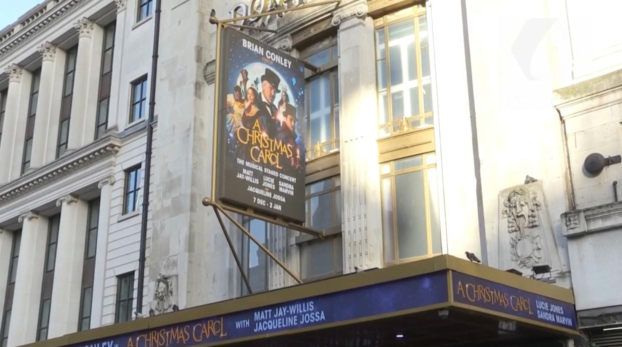 The Dominion Theatre in London's West End
