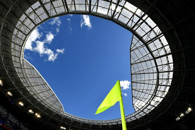 <p>Vista del estadio en Samara, Rusia. Foto: Stuart Franklin – FIFA/FIFA via Getty Images </p>