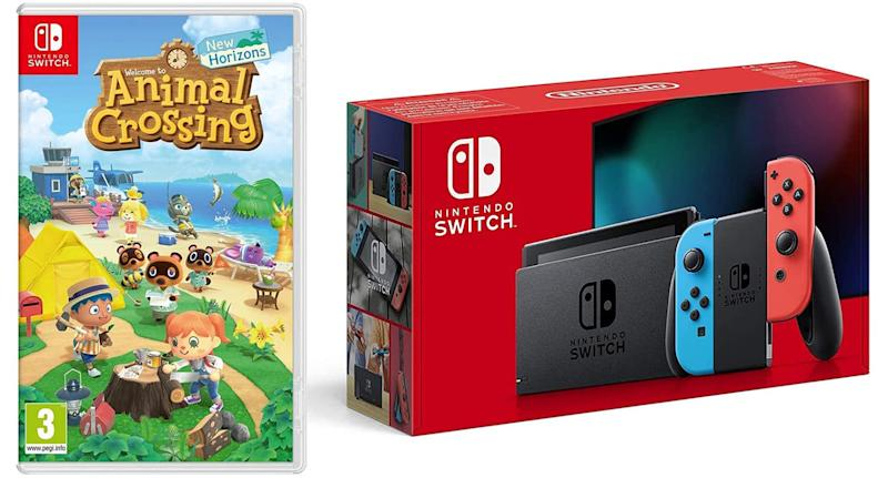 Nintendo Switch + Animal Crossing New Horizons