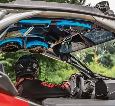 Rockford Fosgate equipped Can-Am Audio Roof for Maverick X3