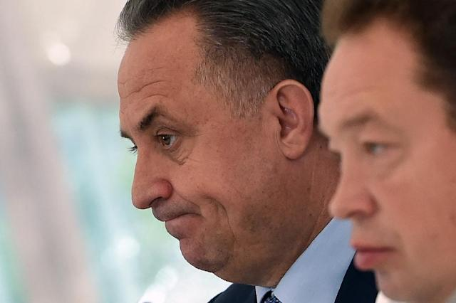 Russian sports minister Vitaly Mutko says he is pleased with the European Olympic Committee (EOC) president's opposition to a North American-led campaign to ban Russia from the Rio Games (AFP Photo/Vasily Maximov)