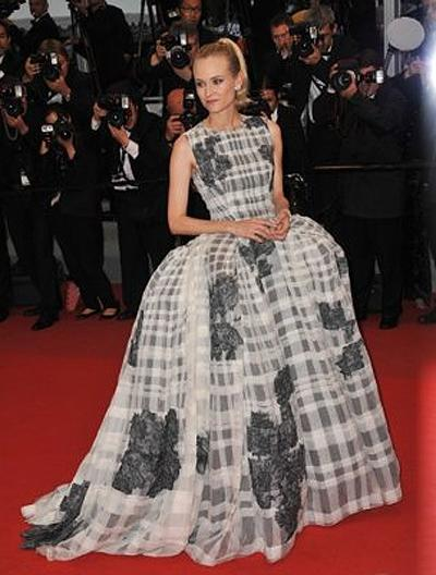 <p><b>Diane Kruger</b></p> <p>Every public moment for Diane Kruger is inevitably a 'Best Dressed' moment-truly the star can do no wrong. Cannes was her oyster this year, and in lieu of choosing her best outfit we opted for her last and undoubtedly most dramatic gown of the festival, an extravagant, voluminous Dior Couture dress from spring 2012.</p>